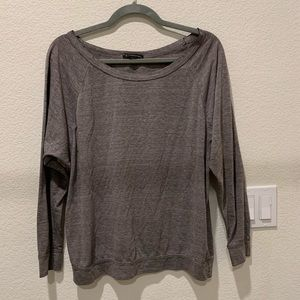 Over-the-Shoulder Long Sleeve Top